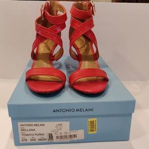 Antonio Melani MELLANA Leather Sandals Size 8.5 M